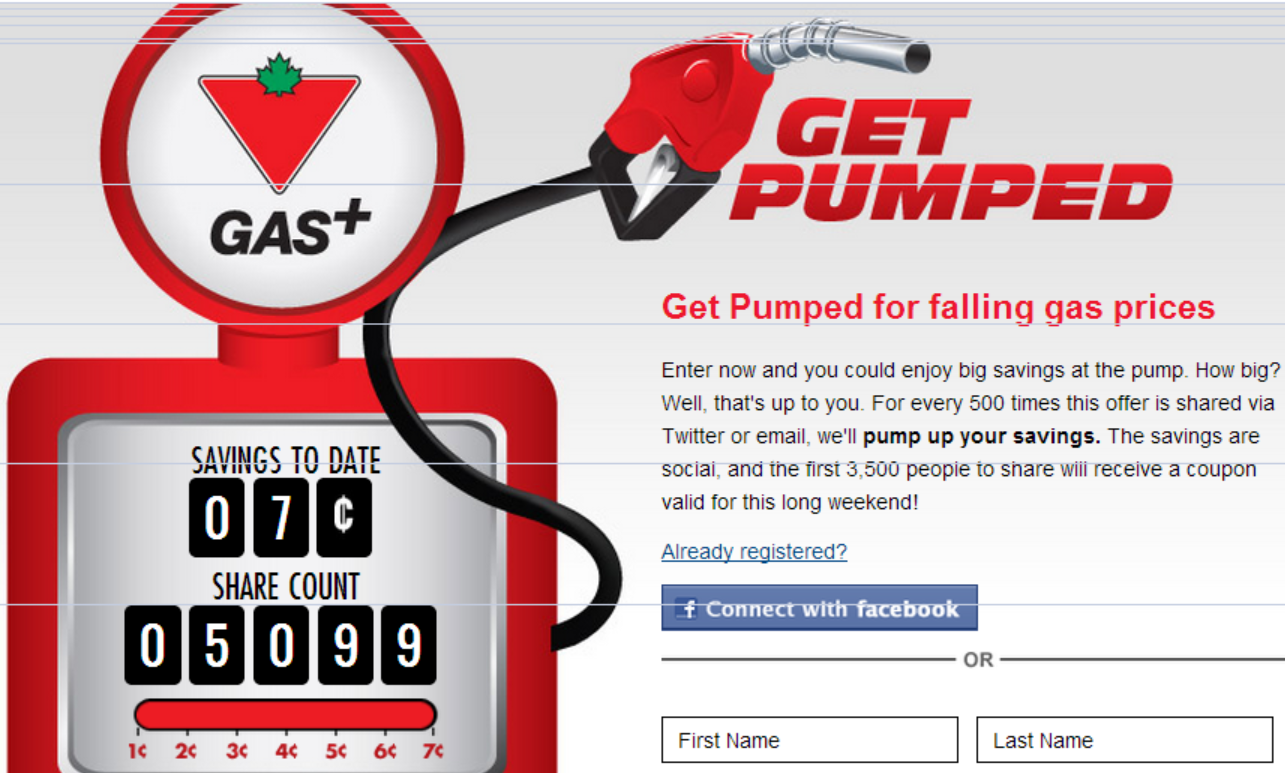 Coupons for Canadian Tire Gas!  Enter NOW to SAVE!