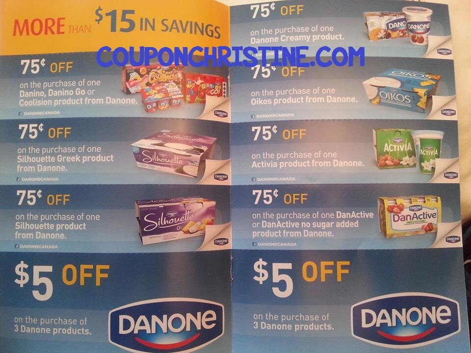 Keep your eyes open for yogurt reps and coupon booklets – $15 off BOOKLETS!