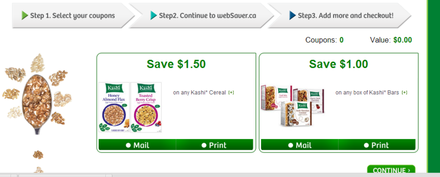 *NEW* Kashi Portqal on Websaver – with 2 coupons available
