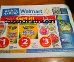 WALMART SNEAK PEEK FLYER – Back to School Sales (Aug. 16 – Aug. 22, 2013)