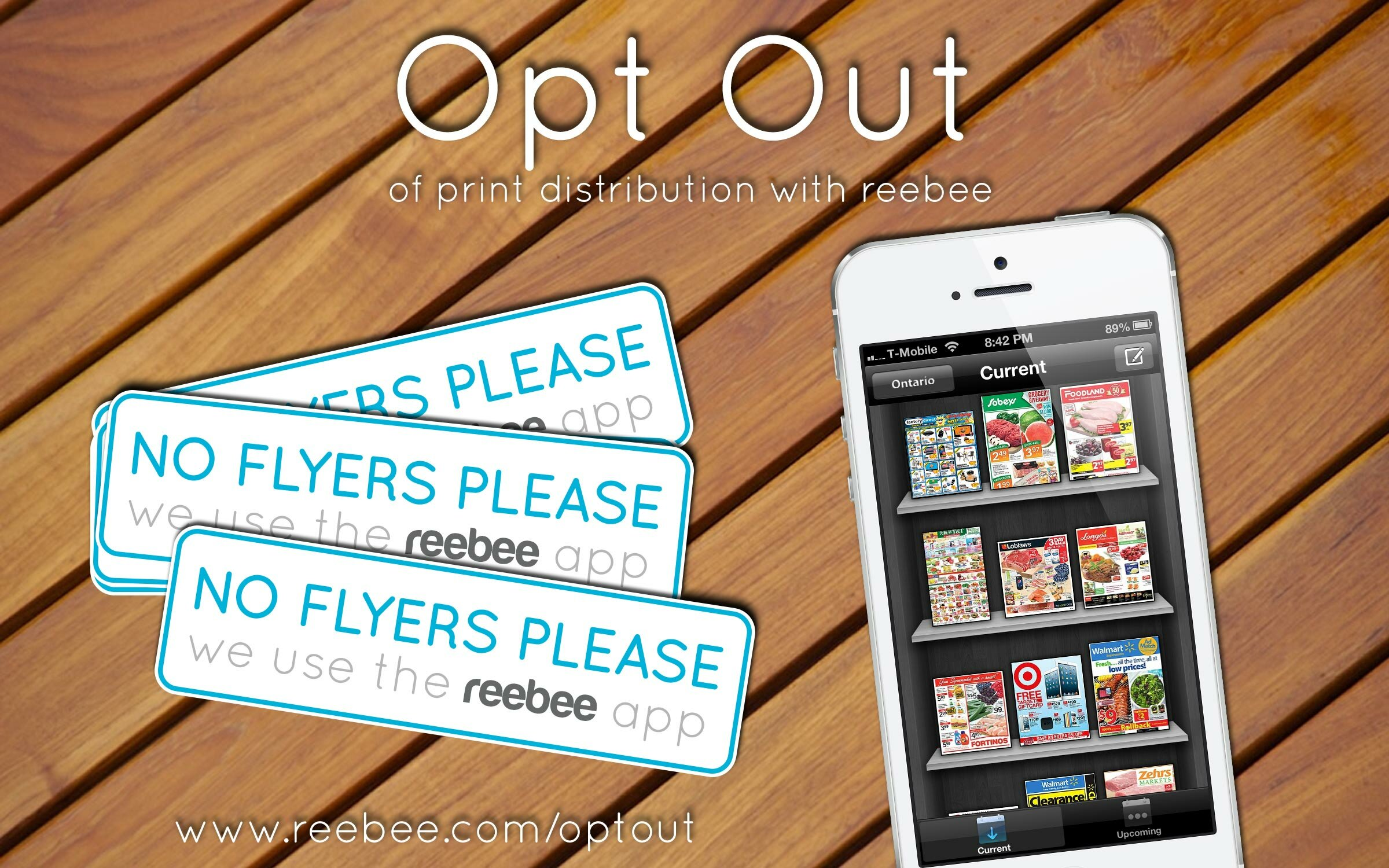 Flyer apps and online flyers on your phone – Would you opt out of hard copy flyers?