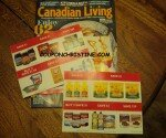 Canadian Living + Coupons Arriving … back to fall baking and SAVING!