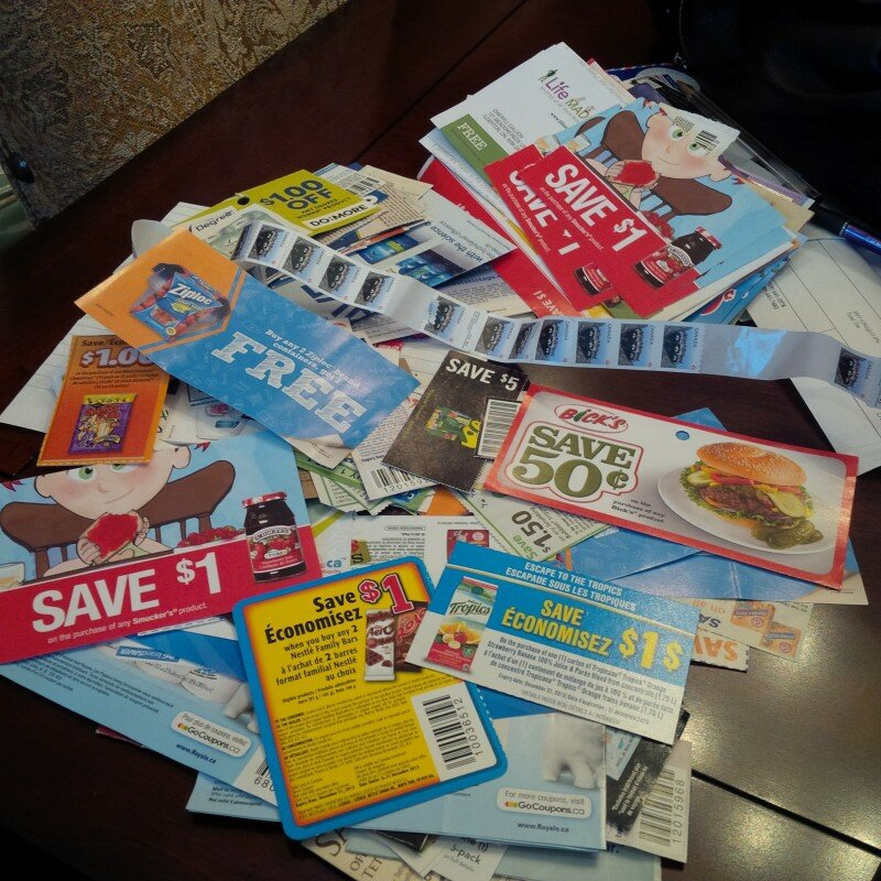 WINNERS of 5 FULL Envelopes of Coupons are ….