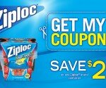 ZIploc offers a $2 off Coupon on their Facebook Page! GO GRAB IT!