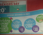 Shoppers Drug Mart Redemption Saturday November 28th!