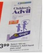 $1.99 for Children's Advil!!