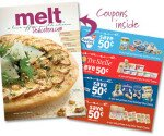 Printable Coupons from Melt Magazine