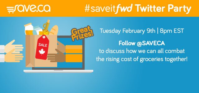 Join us Tuesday Feb 9th at 8pm for the save.ca twitter party! #saveitfwd