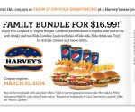 Harvey's Family bundle for $16.99!