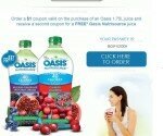 Oasis FREE PRODUCT coupon