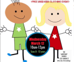 New To Them – FREE CLOTHING for Children Event – LONDON's Sanctuary Church