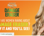 * FREE Garnier Fructis Damage Eraser Sample *