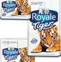 $3 Royale Tiger Paper Towel Coupon