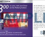 $3 off ROBAX Printable Coupon