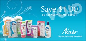 *New* Nair coupon -Yes it is that time!