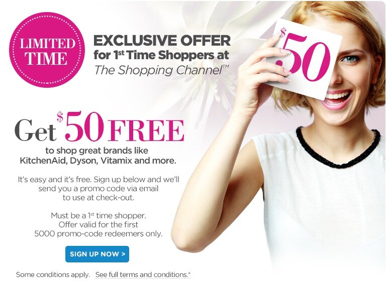 FREE $50 from the Shopping Channel!?!?