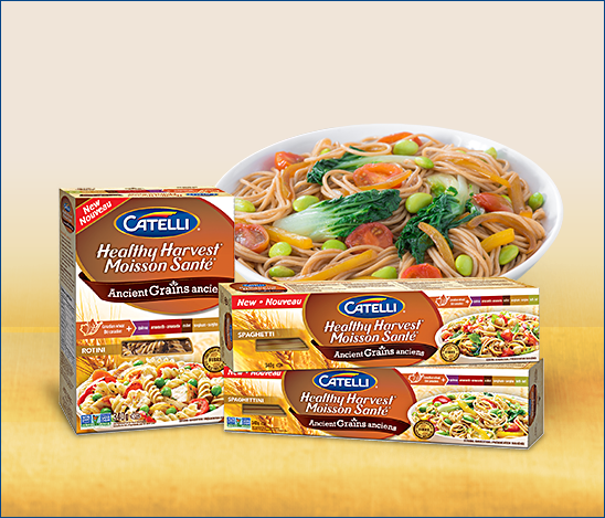 *NEW* $1 off Catelli Healthy harvest Ancient grains printable Coupon